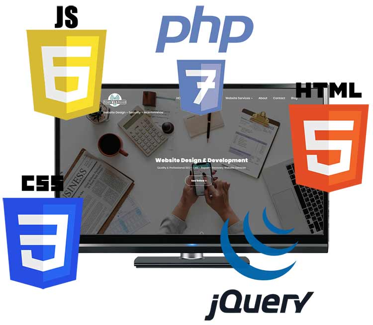 Desktop Screen Website Standards Logos